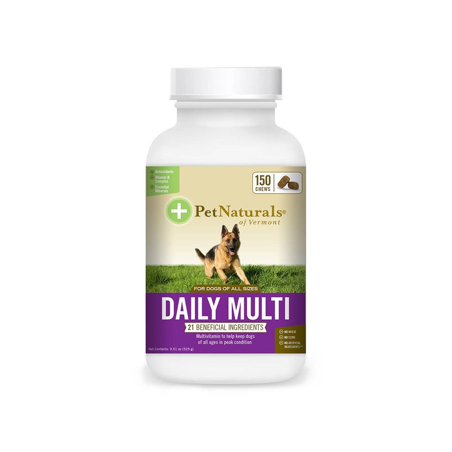 Pet Naturals of Vermont Daily Multi-Vitamin for Dogs