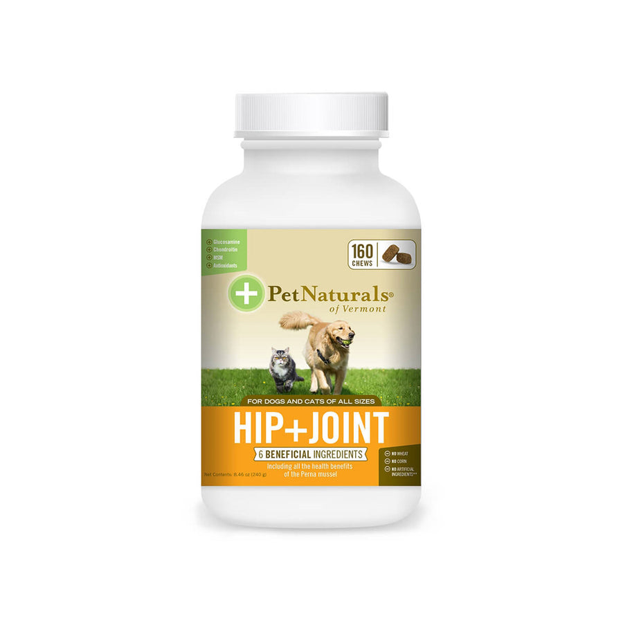 Pet Naturals of Vermont Hip + Joint for Dogs & Cats