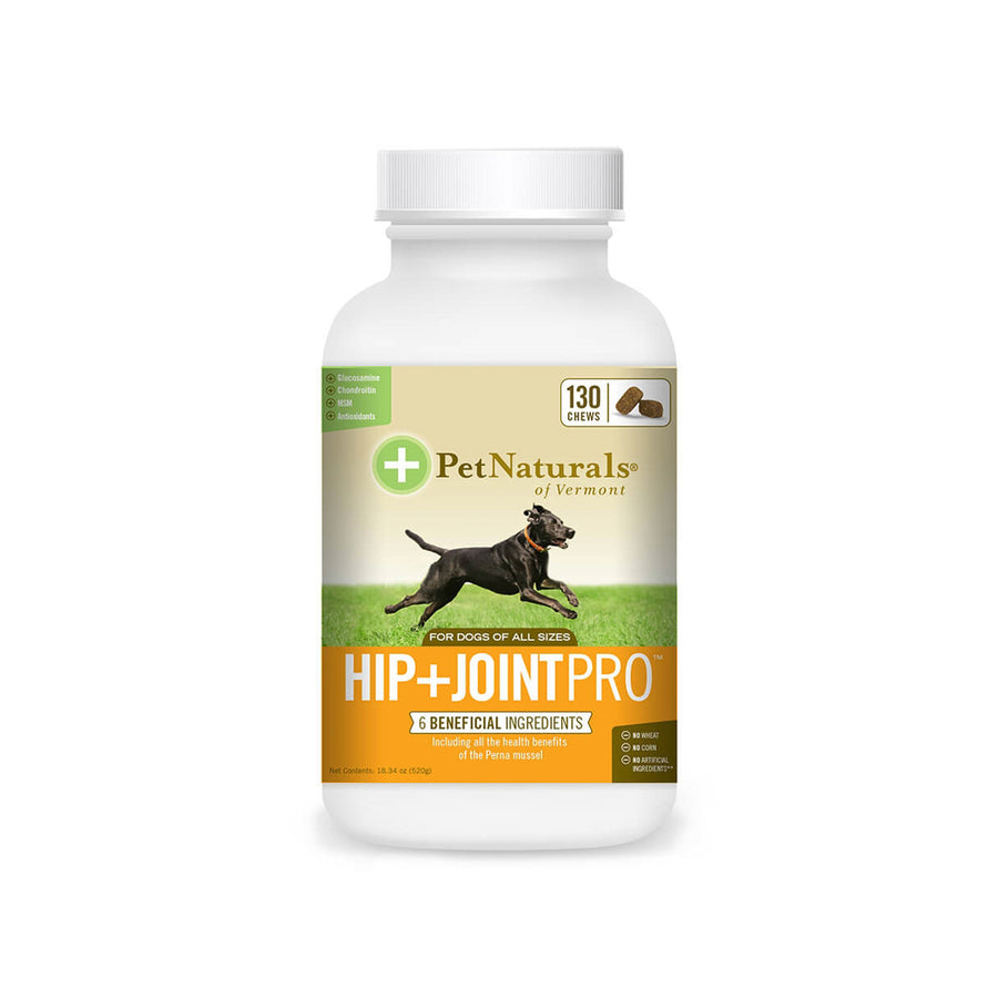Pet Naturals of Vermont Hip + Joint PRO for Dogs
