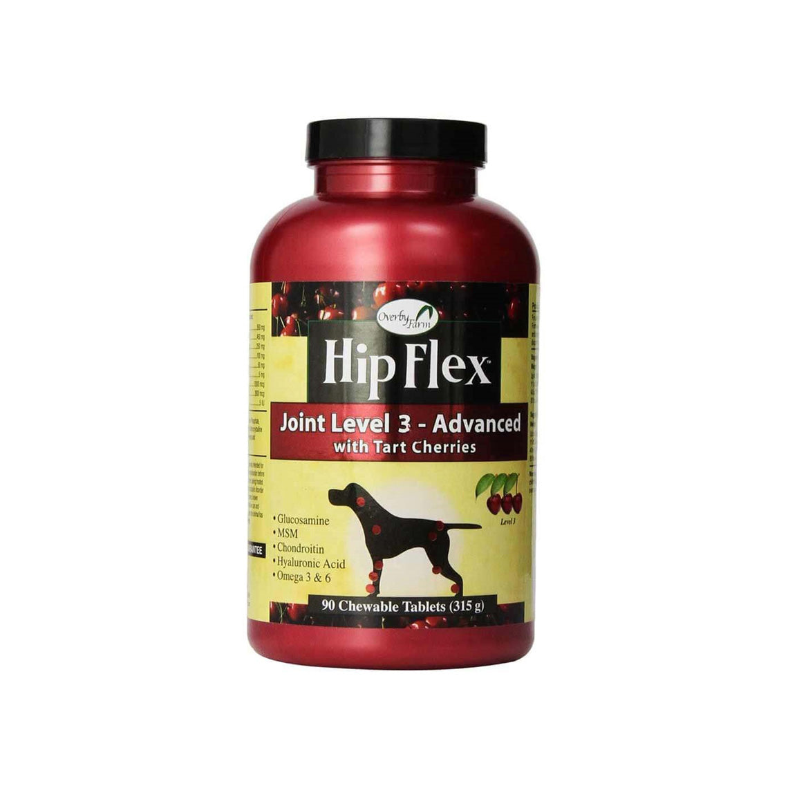 Overby Farm Hip Flex Cherry Chewable Joint Supplements