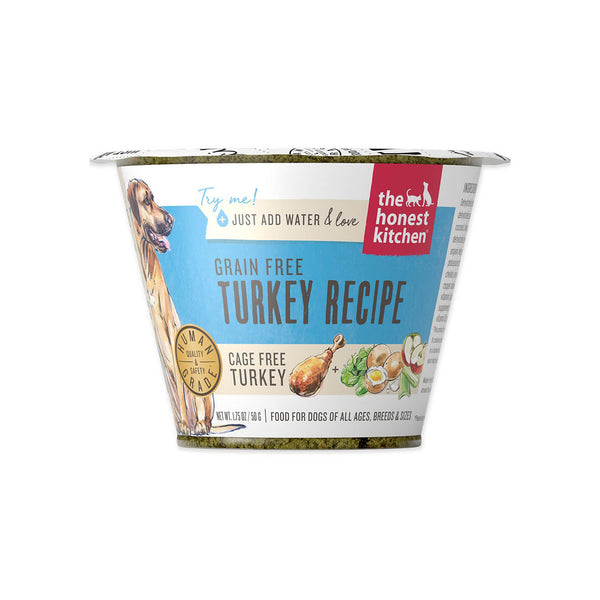 Honest Kitchen Grain Free Turkey Recipe Dehydrated Dog Food