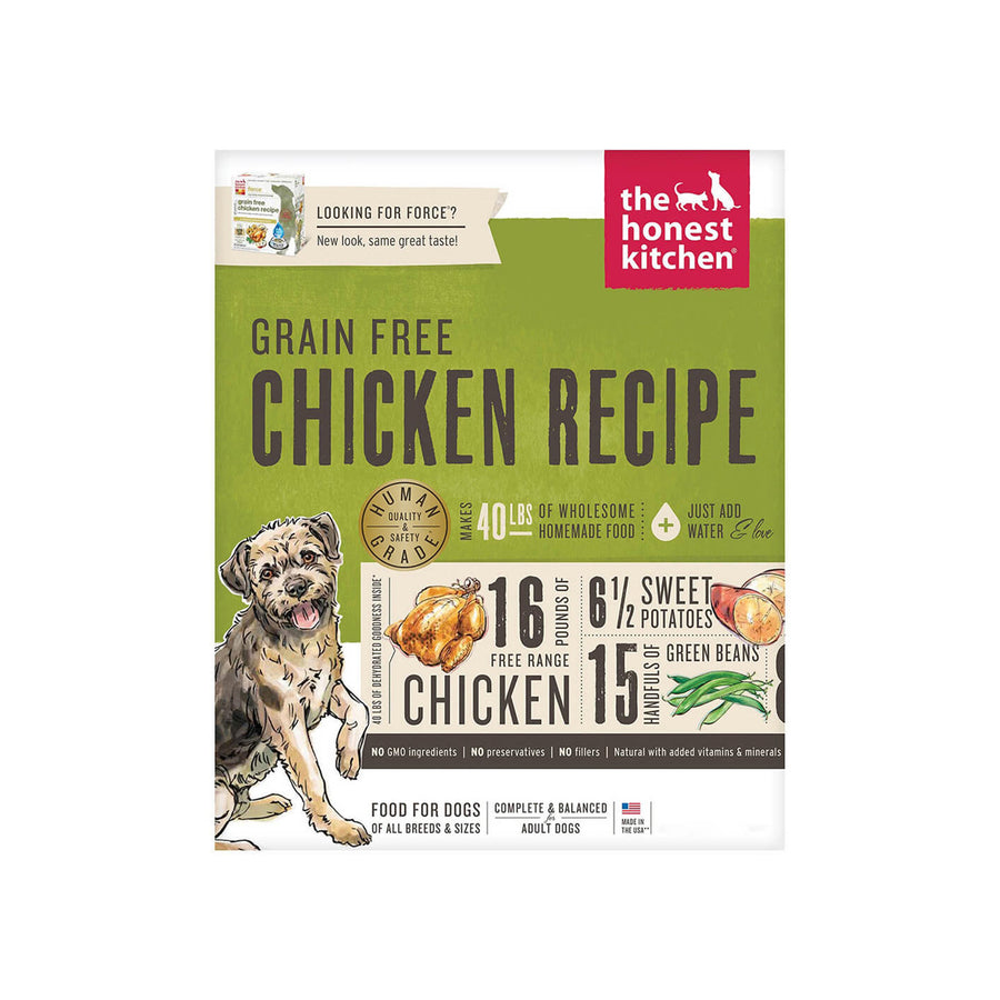 Honest Kitchen Grain Free Chicken Dehydrated Dog Food