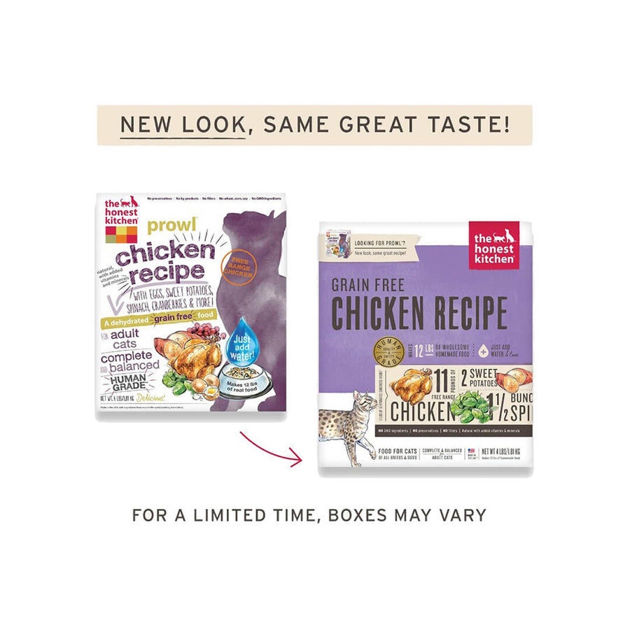 Honest Kitchen Prowl Grain-Free Dehydrated Cat Food