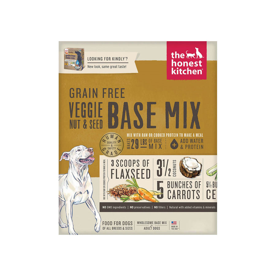 Honest Kitchen Veggie Nut & Seed Base Mix Dog Food