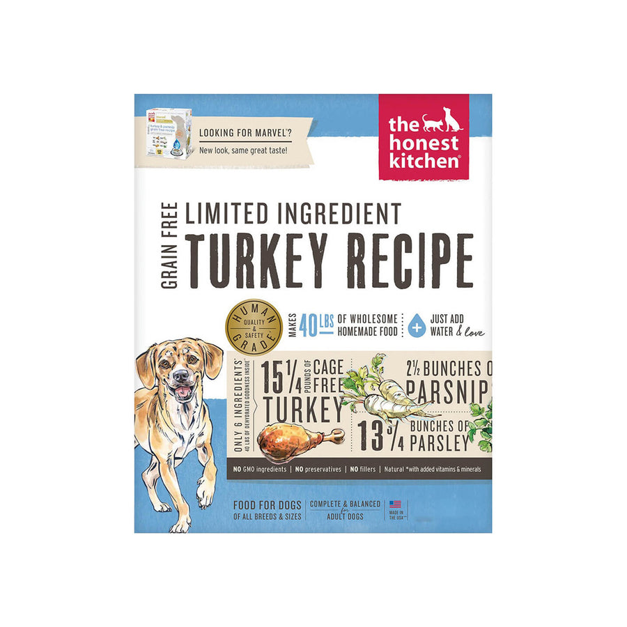 Honest Kitchen Grain Free Limited Turkey Dehydrated Dog Food