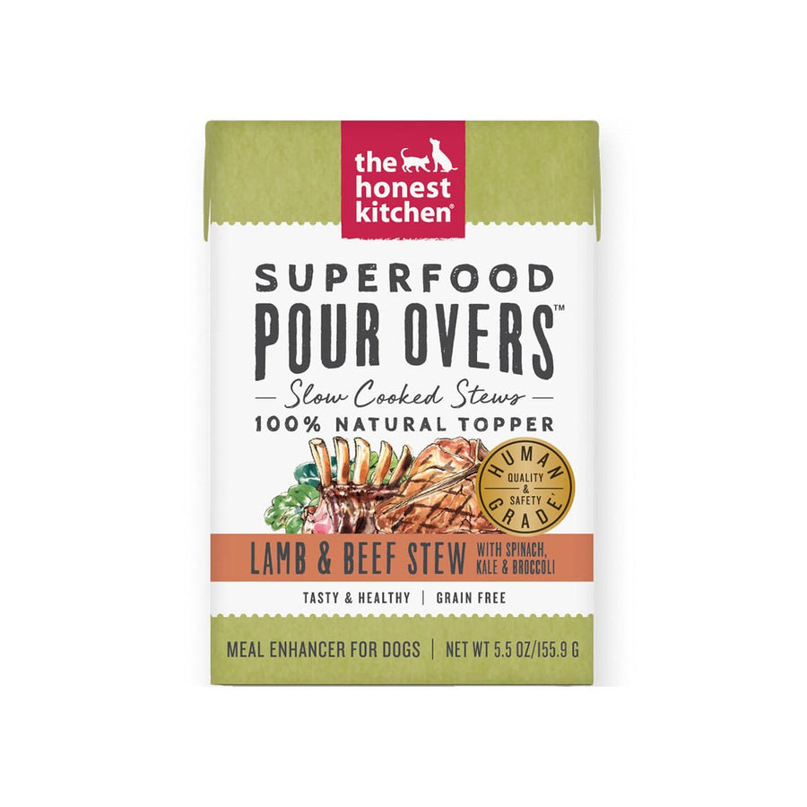 Honest Kitchen Superfood Bone Broth Pour Overs and Meal Enhancer for Dogs