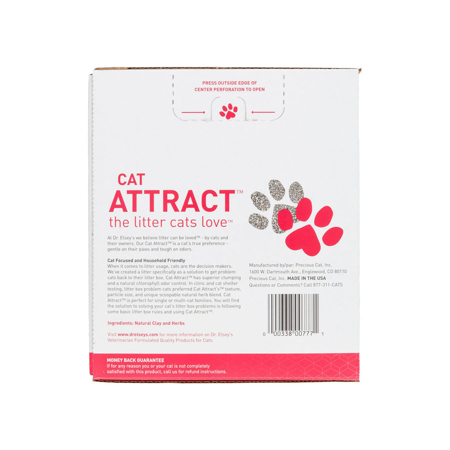 Dr. Elsey's Cat Attract Natural Herbal Attractant Multi-Cat Strength Clay Litter