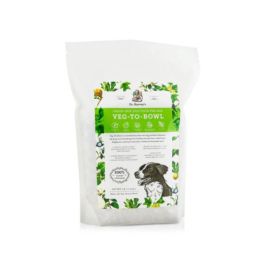 Dr. Harvey's Veg-to-Bowl Dehydrated Whole Food Grain-Free Pre-Mix Dog Food