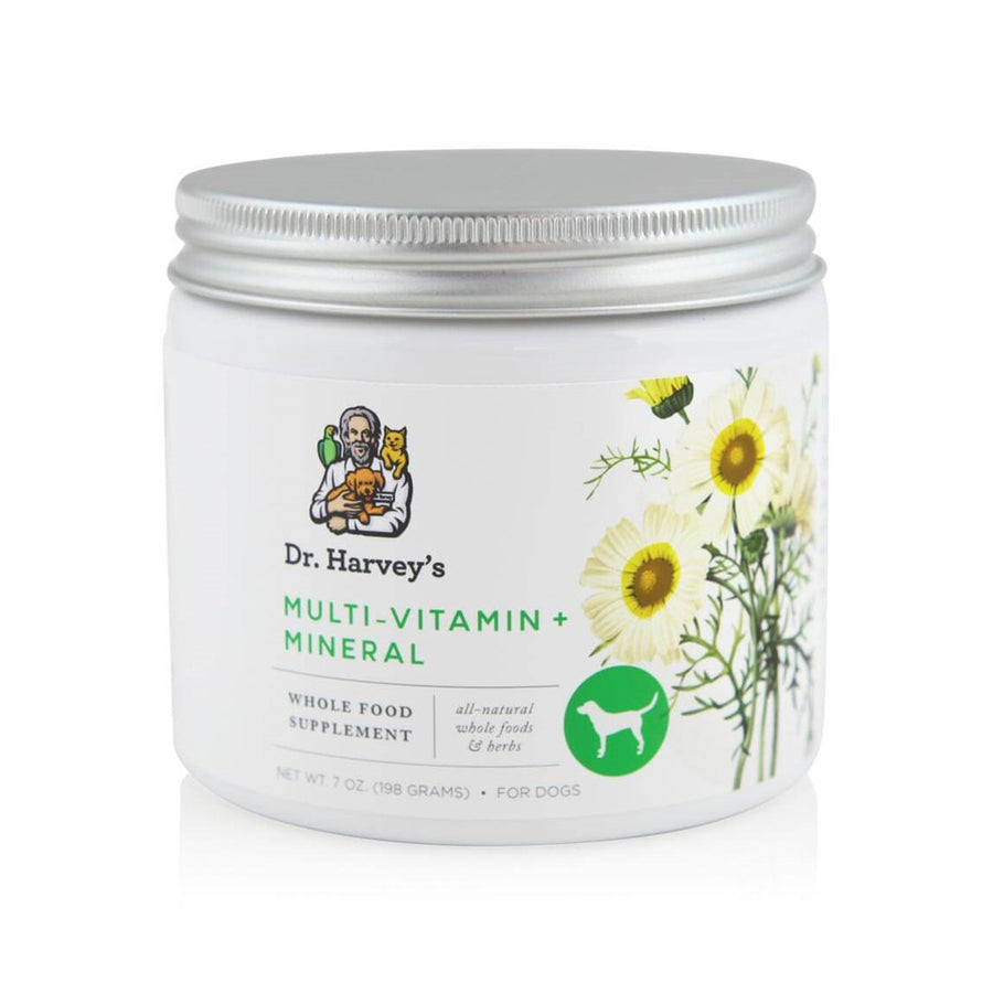 Dr. Harvey's Multi-Vitamin + Mineral Whole Food & Herb Supplement for Dogs