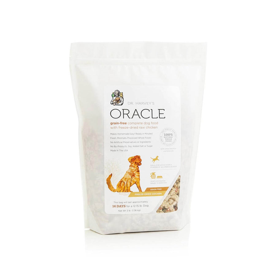 Dr. Harvey's Oracle Grain-Free Freeze-Dried Raw Complete Diet Dog Food