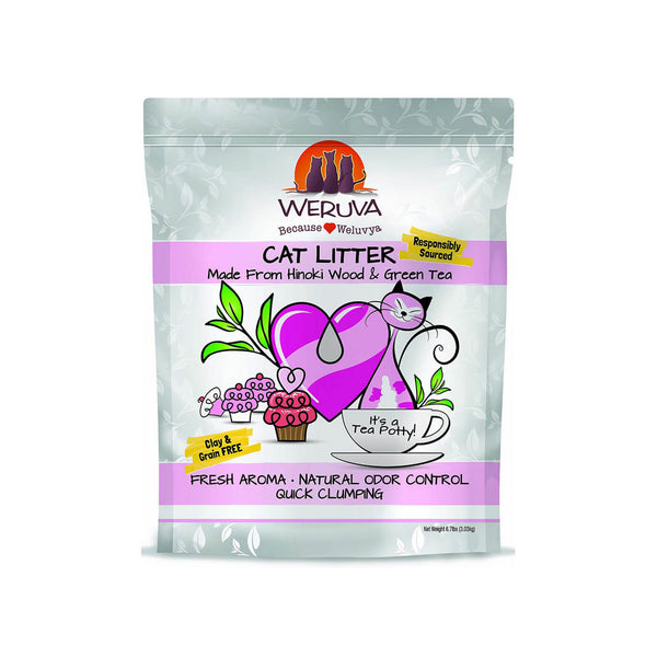 Weruva Tea Potty Cat Litter