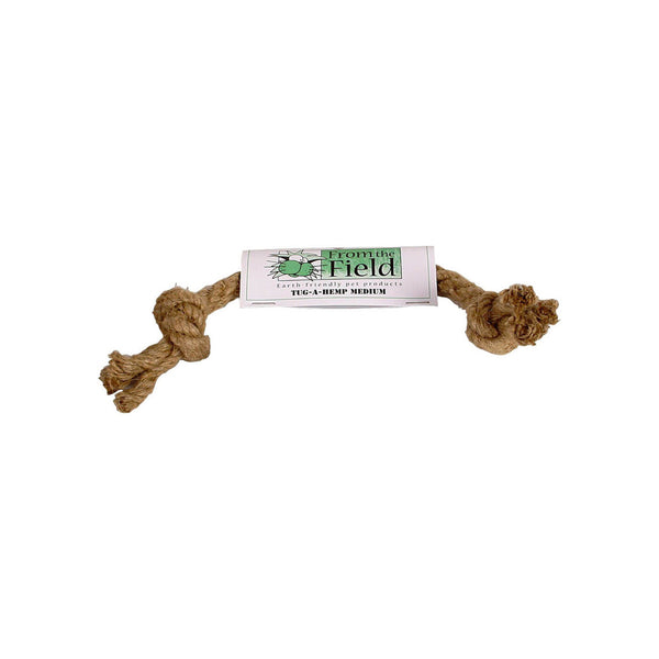 Tug-A-Hemp Natural Dog Toy