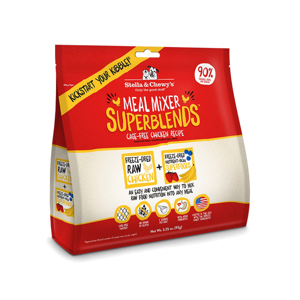 Stella & Chewy's Freeze-Dried Meal Mixer Superblends