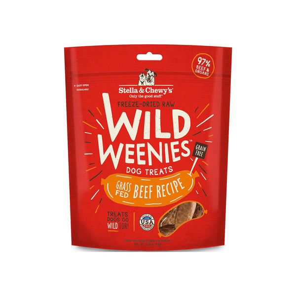 Stella & Chewy's Wild Weenies Raw Freeze-Dried Dog Treats