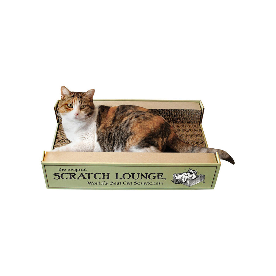 Scratch Lounge Double-Sided Cat Scratcher