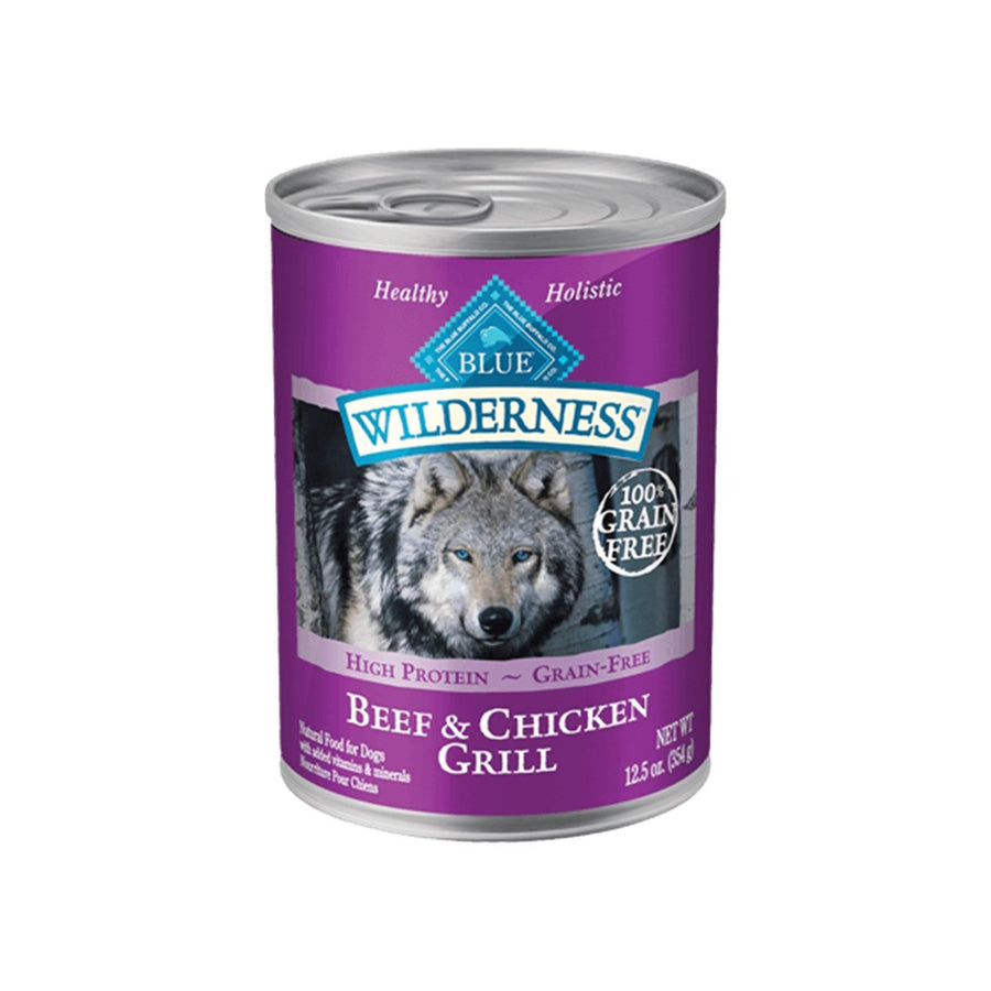 Blue Buffalo Wilderness Grain-Free Wet Canned Dog Food