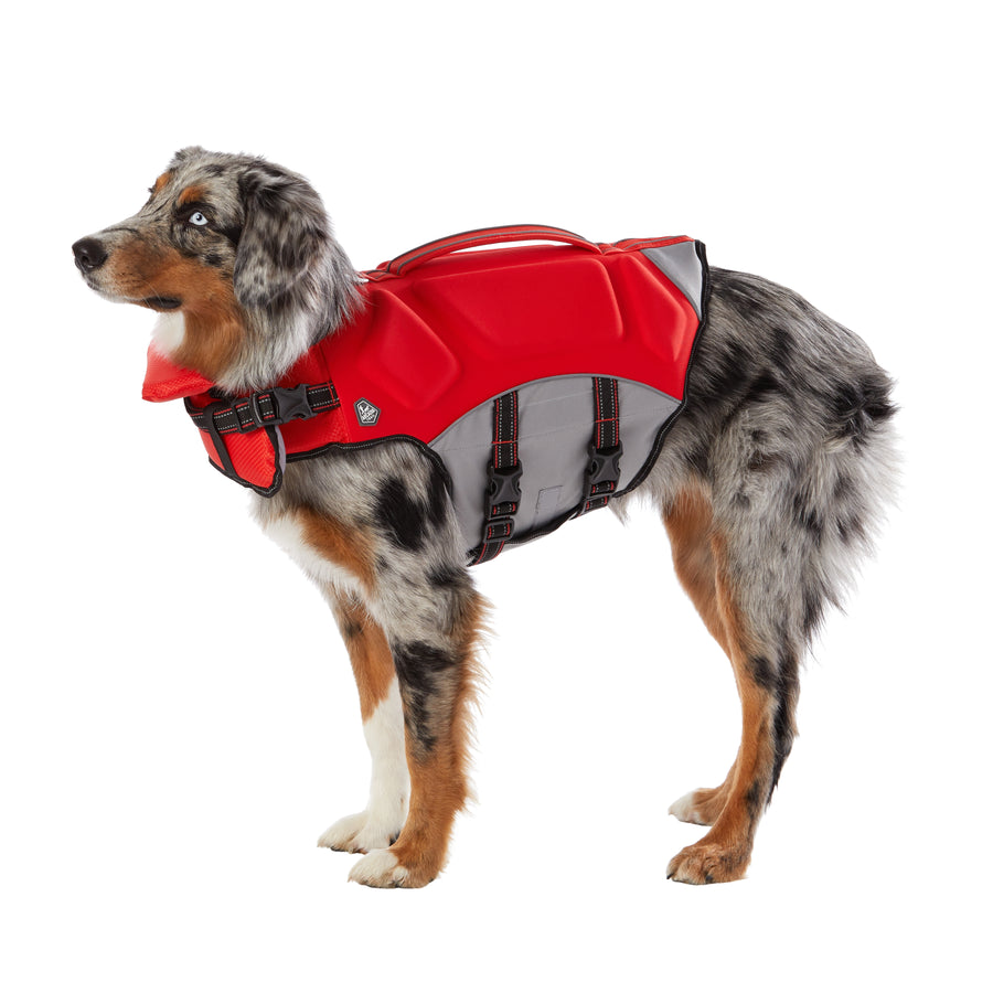 Arcadia Trail High Visibility Life Jacket Red