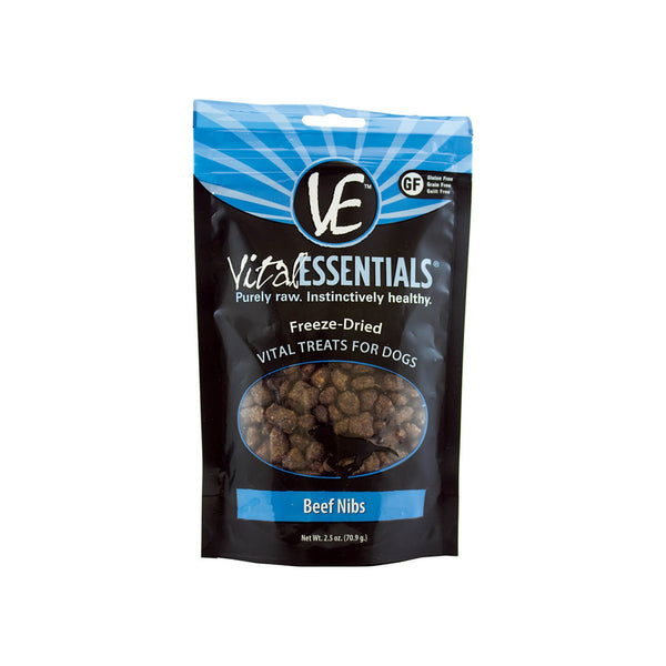 Vital Essentials Nibs Raw Freeze-Dried Treats for Dogs