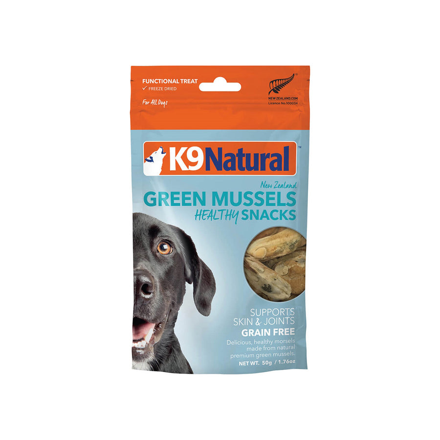 K9 Natural Freeze Dried Mussel Treats for Dogs