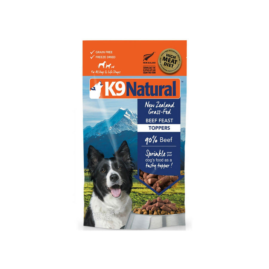 K9 Natural Freeze Dried Dog Food Toppers