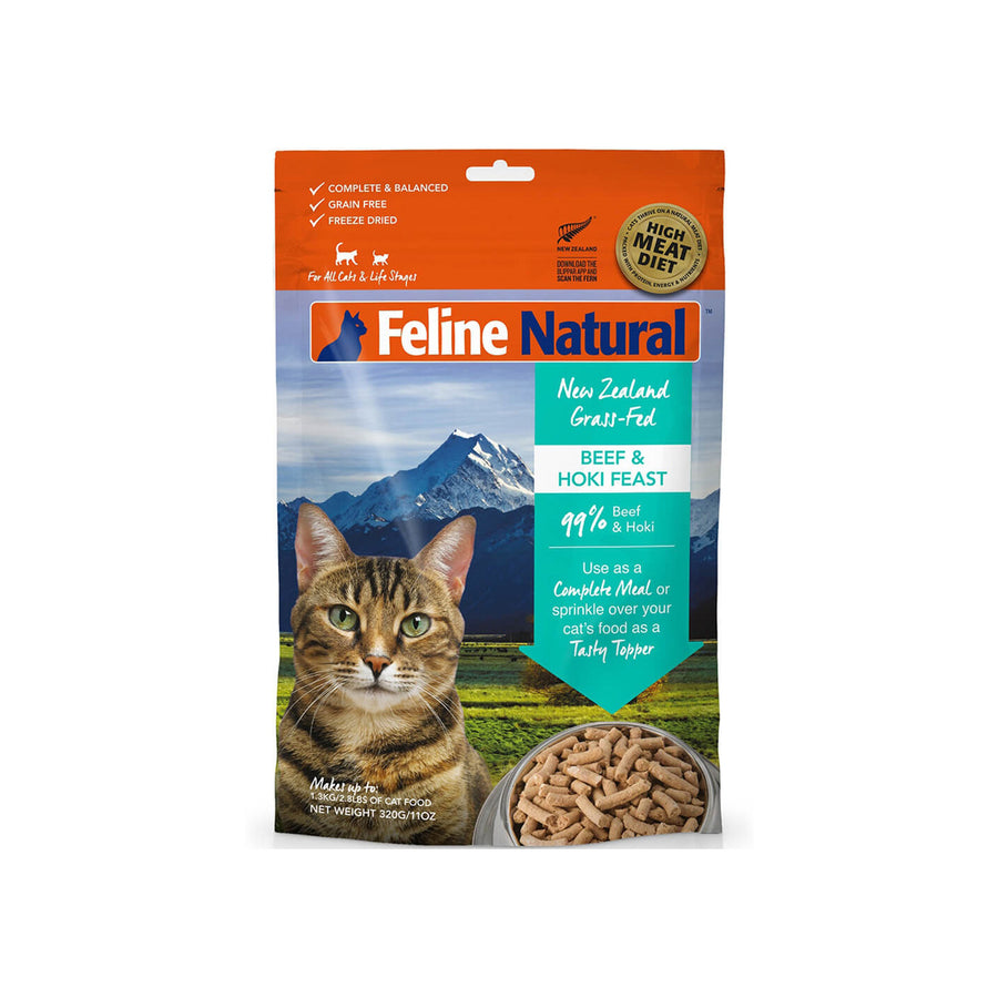 Feline Natural Grain-Free Freeze Dried Raw Cat Food