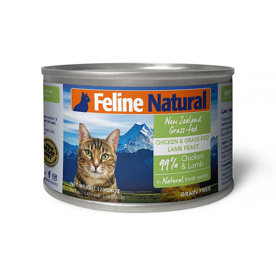 Feline Natural Grain-Free Canned Wet Cat Food