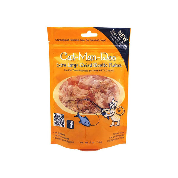 Cat-Man-Doo Extra Large Dried Bonito Flakes Cat Treats