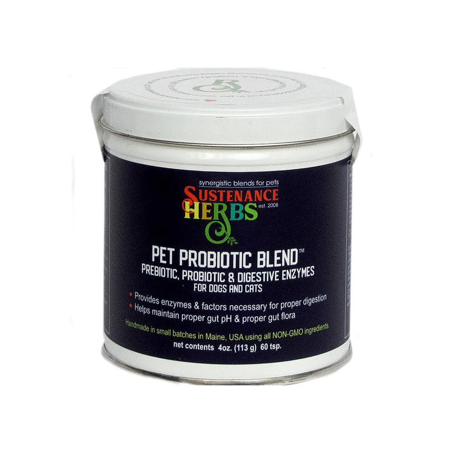 Sustenance Herbs Pet Probiotic and Digestive Enzyme Blend