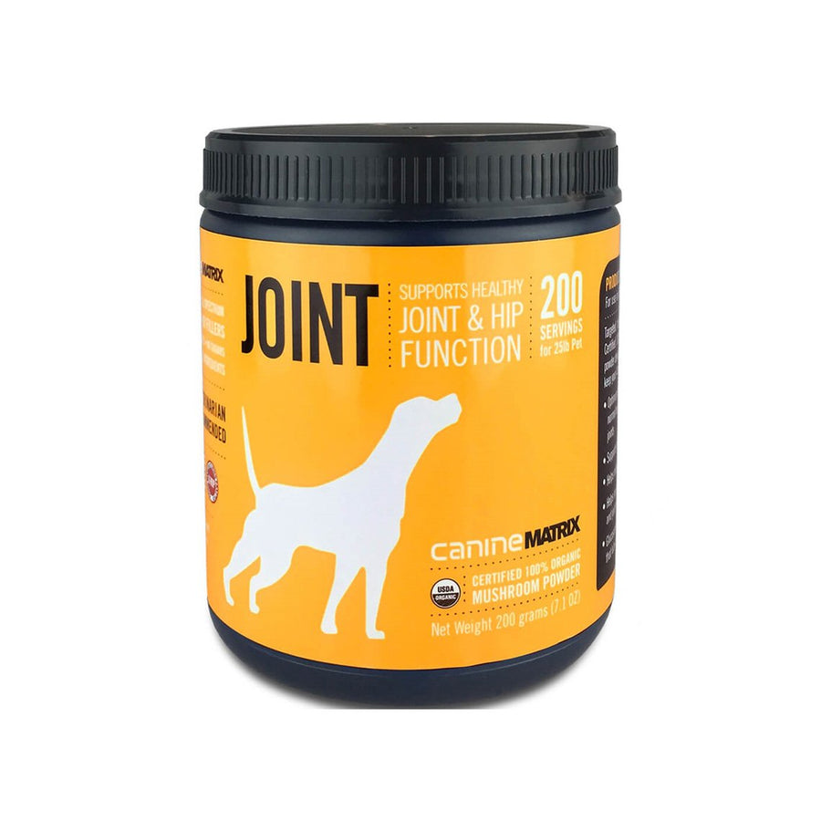 Canine Matrix Joint Flex Organic Mushroom Mobility Supplement for Dogs