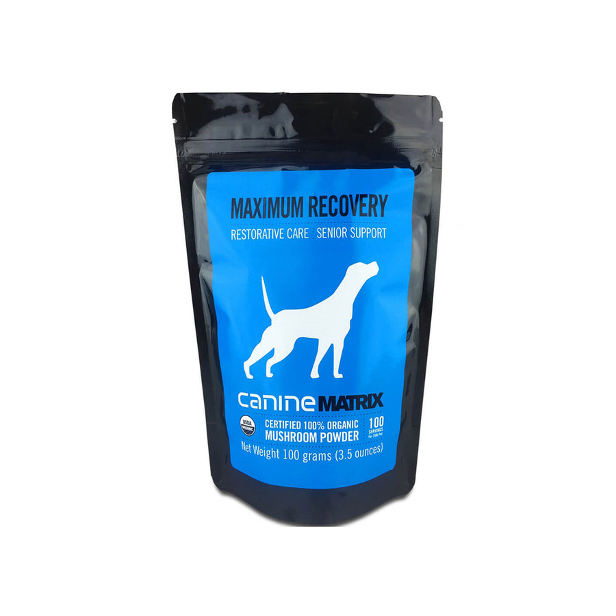 Canine Matrix MRM Recovery Organic Mushroom Senior Supplement for Dogs