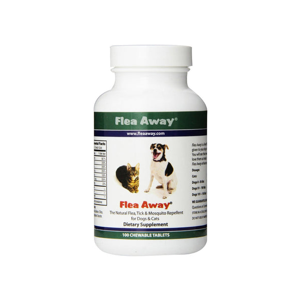 Flea Away Natural Flea Prevention Tablets