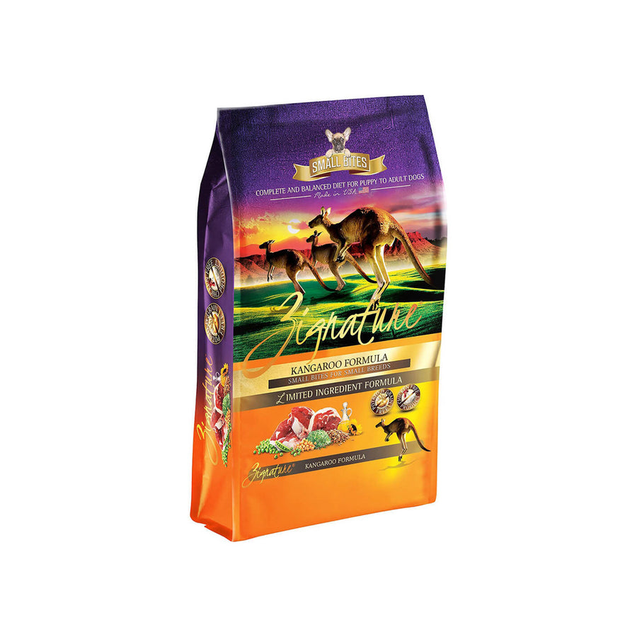 Zignature Lid Small Bites Dry Dog Food For Small Breeds