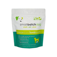SmallBatch Sliders Freeze Dried Raw Dog Food
