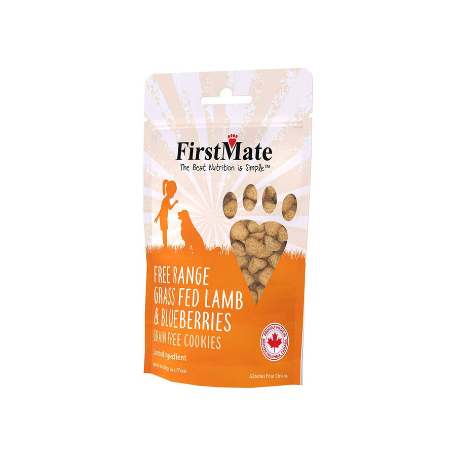 FirstMate Limited Ingredient Grain-Free Cookies Treats for Dogs
