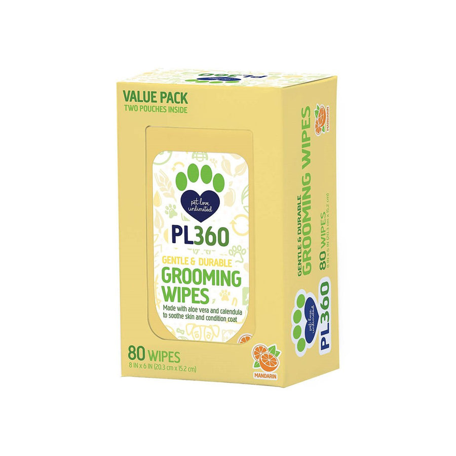 PL360 Grooming Wipes for Dogs and Cats