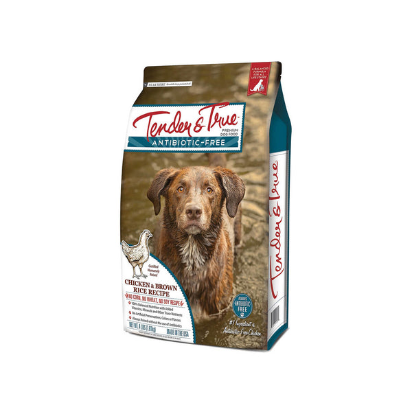 Tender & True Organic & Antibiotic Free Dry Dog Food