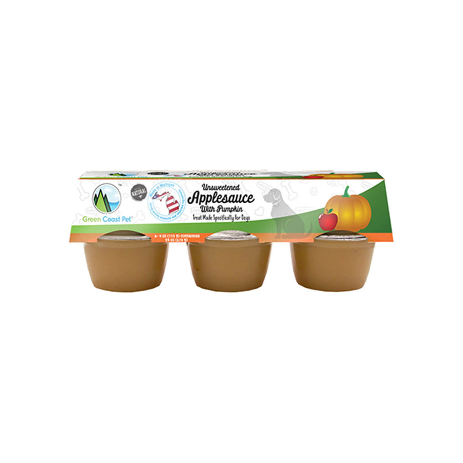 Green Coast Pet Grain-Free Applesauce Treats for Dogs
