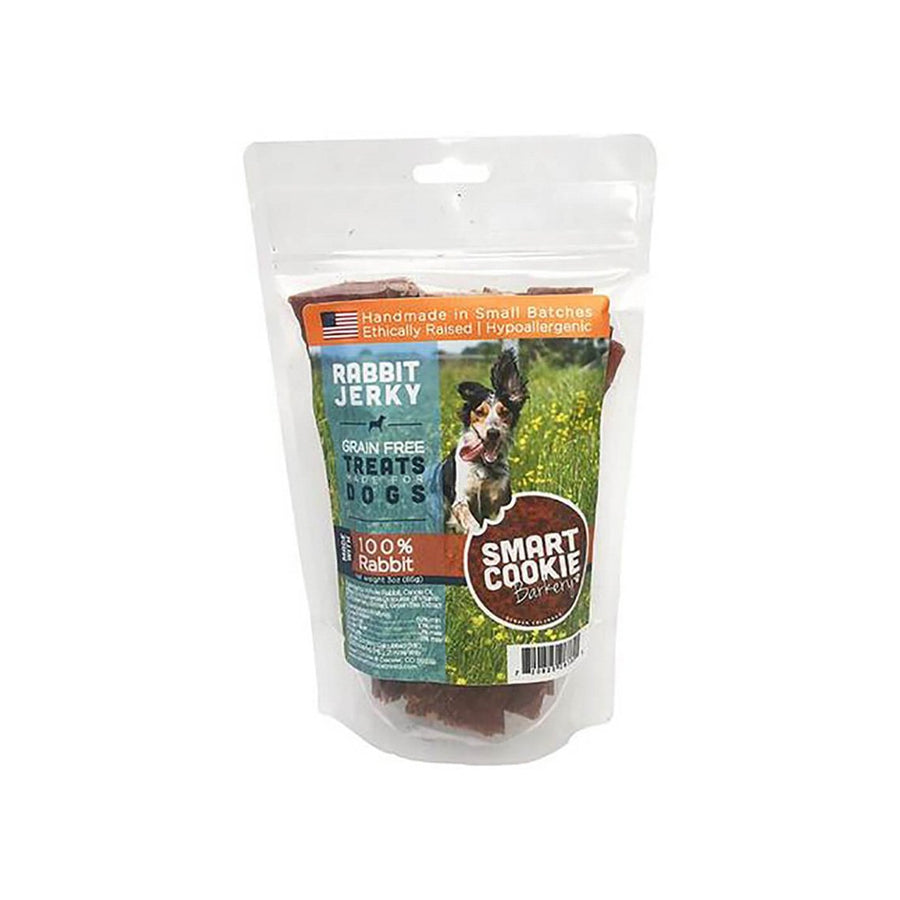 Smart Cookie 100% Rabbit Jerky Treats for Dogs 3 oz