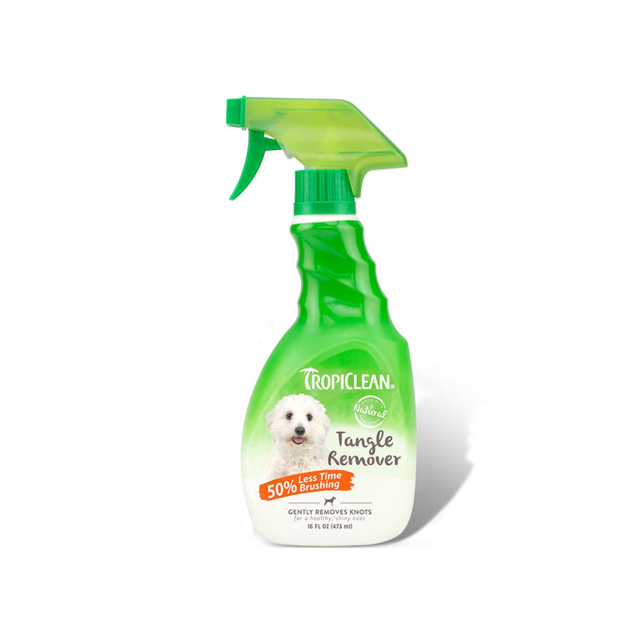 TropiClean Gentle Tangle Remover for Dogs 16 oz