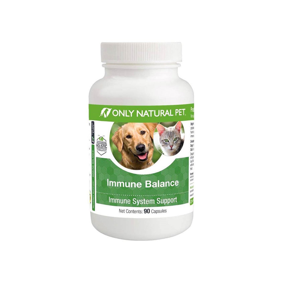 Only Natural Pet Immune Balance Allergy Support Plant Sterols for Dogs & Cats