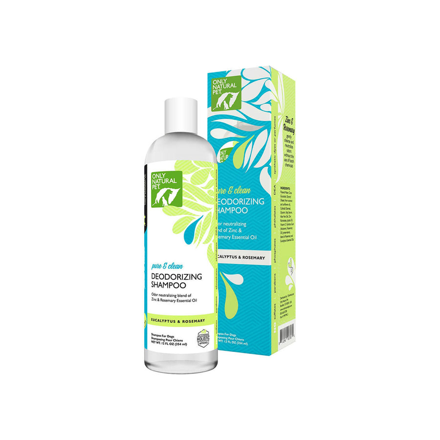 Only Natural Pet Pure & Clean Deodorizing Shampoo & Spray