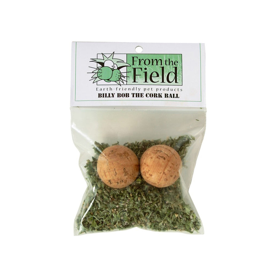 From the Field Billy Bob the Corkball Catnip Cat Toy