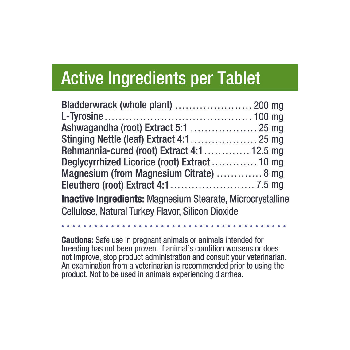 Canine Thyroid Wellness Supplement Pills For Dogs Only Natural Pet
