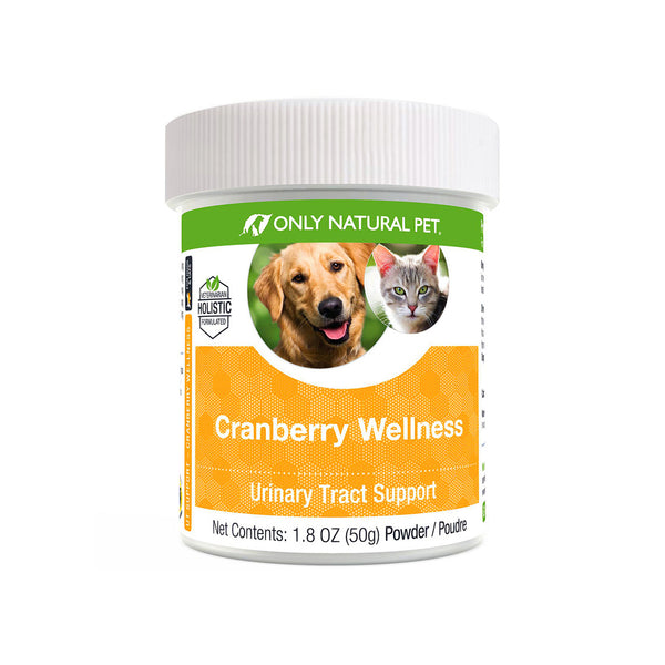 Only Natural Pet Cranberry Wellness Extract Supplement for Dogs & Cats
