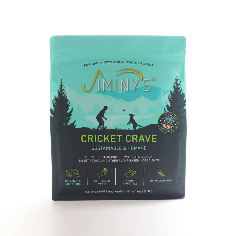 Jiminy's Cricket Crave Sustainably Sourced Food for Dogs