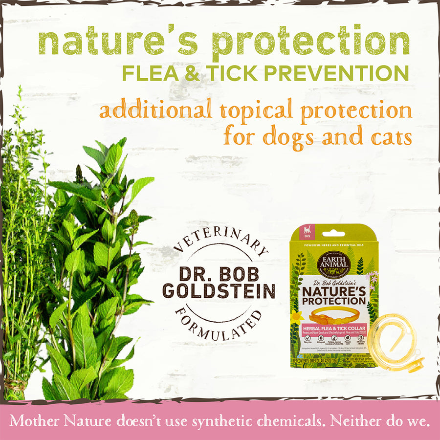 Earth Animal Nature's Protection Flea & Tick Collar for Cats