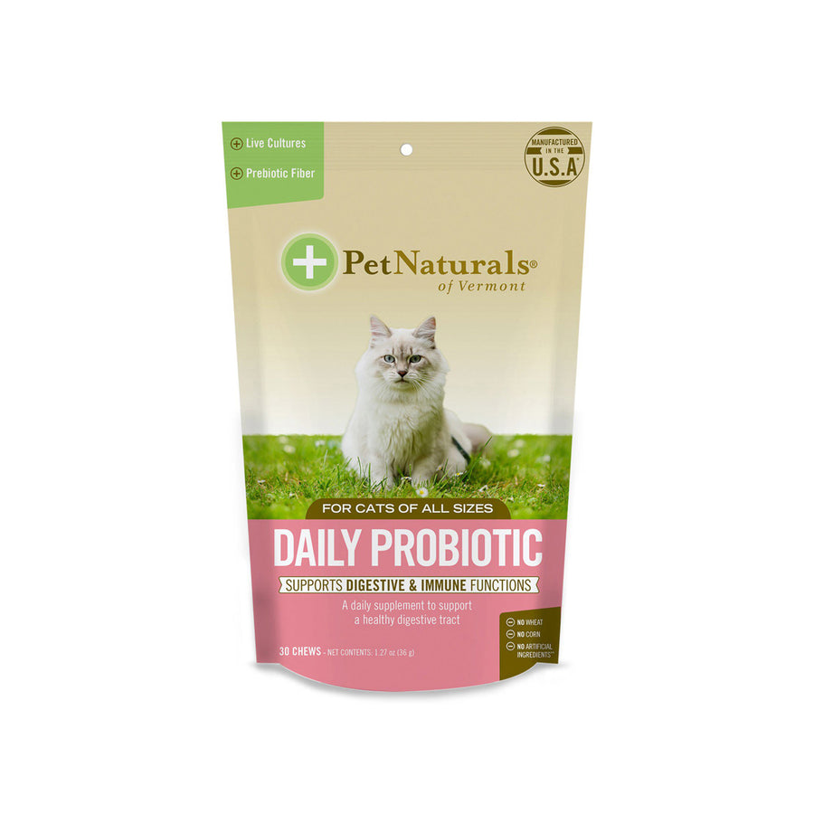 Pet Naturals of Vermont Daily Probiotic Cat Soft Chews