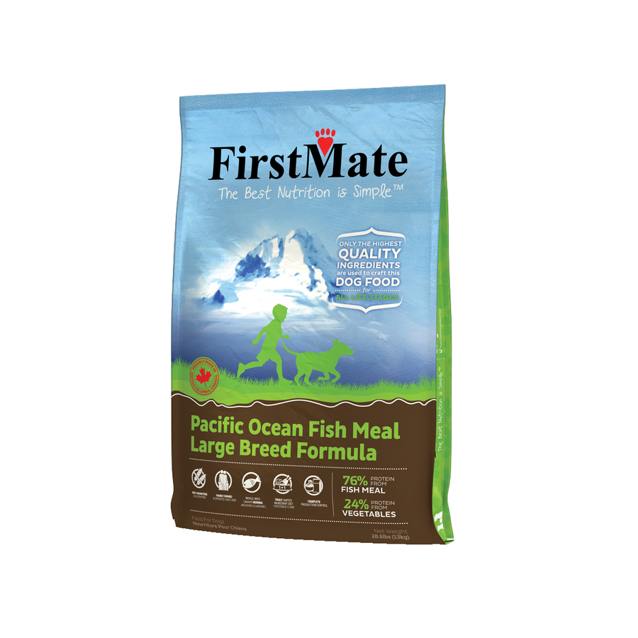 FirstMate Pacific Ocean Fish Large Breed Formula Grain-Free Dry Dog Food