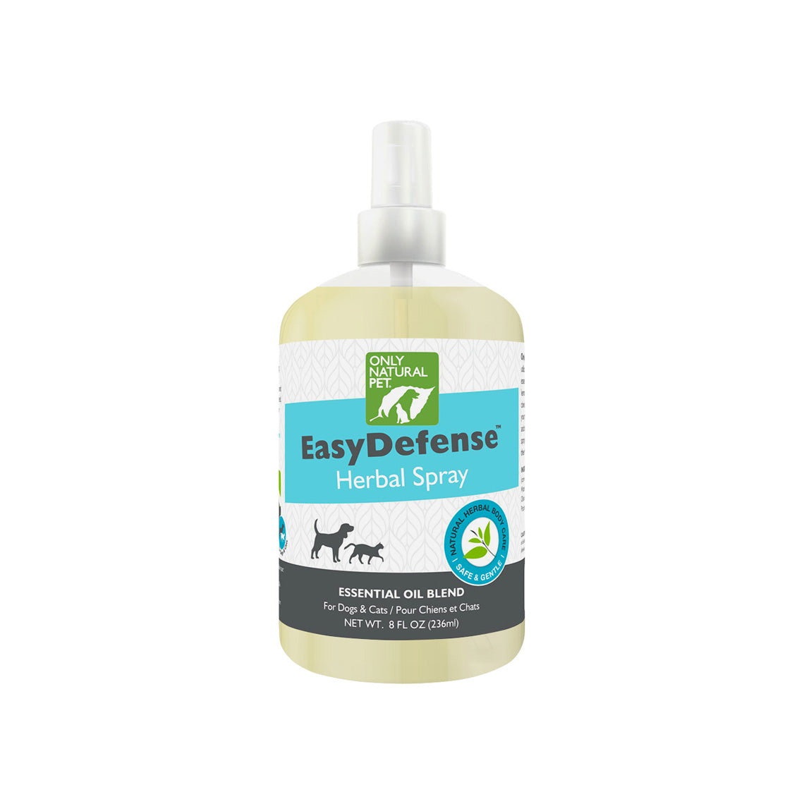 Only Natural Pet Easydefense Herbal Essential Oil Flea Tick Spray Fo