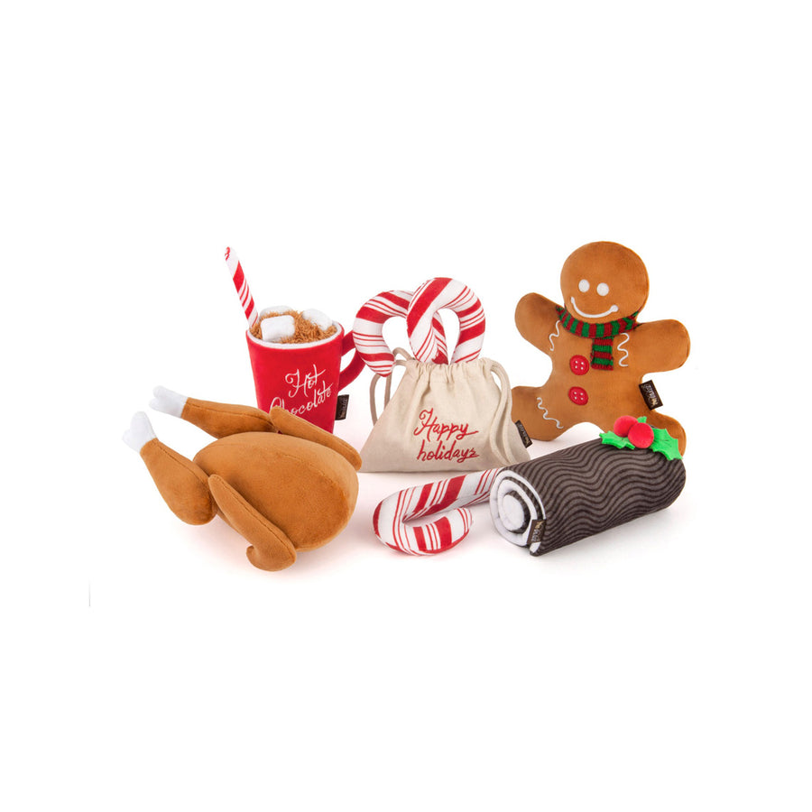 Holiday Classic Plush - 5 Piece Set